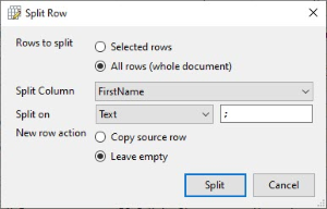 How to split rows and columns in a CSV File - Rons Place Blog